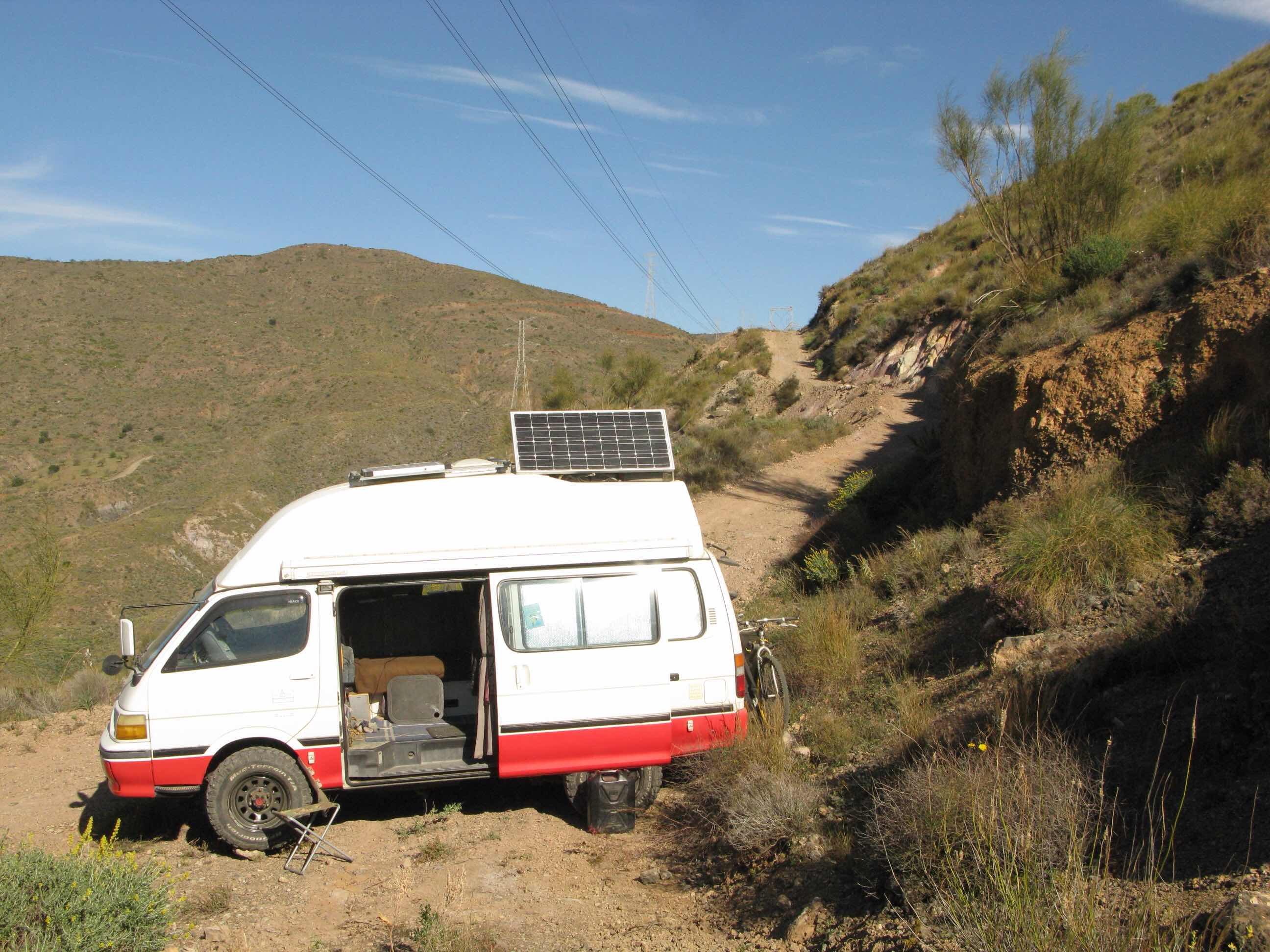ebf49a6189 Hiace Hobo - Living in a Toyota Camper Van  Mountain Retreat