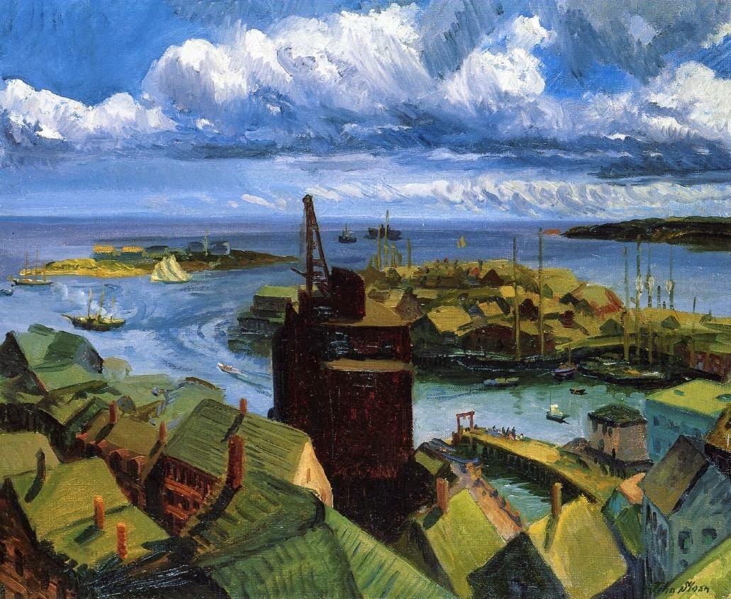 John Sloan - Gloucester Harbor