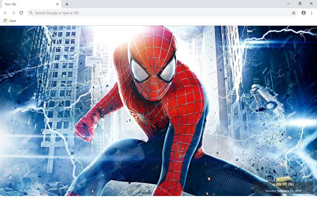 Spider-Man New Tab & Wallpapers Collection