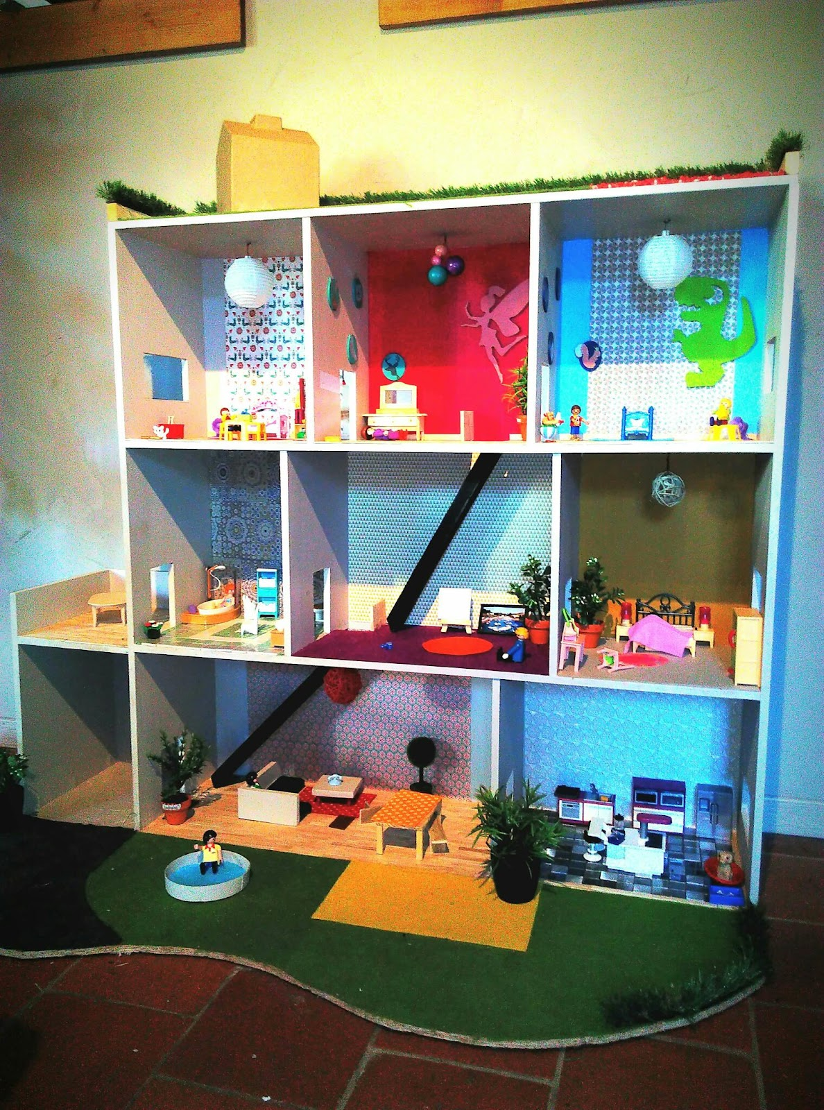 mon monde fait main ma maison playmobil. Black Bedroom Furniture Sets. Home Design Ideas