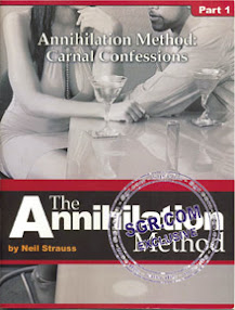 Cover of Neil Strauss's Book The Annihilation Method Carnal Confessions.pdf