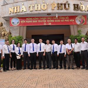 Ban Truyền thông giáo xứ Phú Hoà mừng bổn mạng