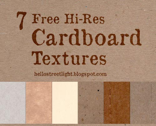 Free High Resolution Cardboard Textures