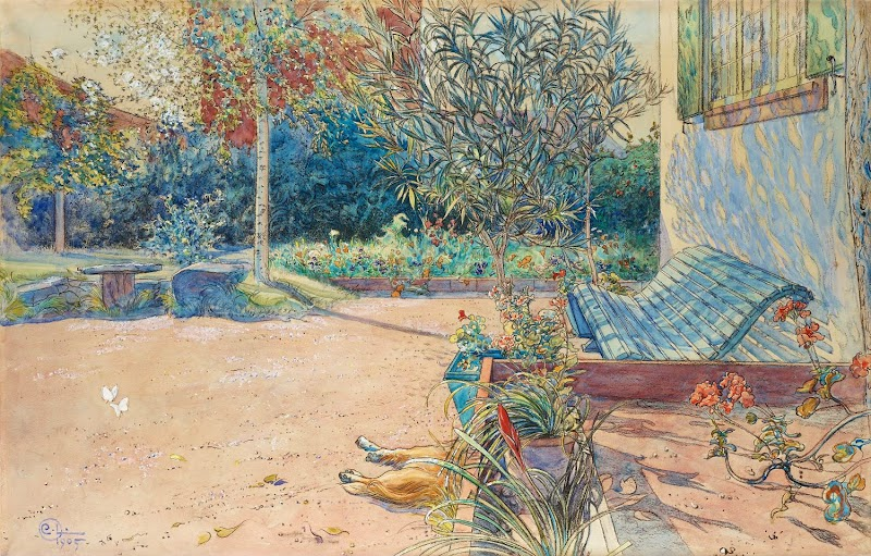 Carl Larsson - My Yard