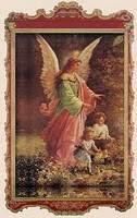 Santo Anjo Meu zeloso guardador.  Imagem Santo Anjo.