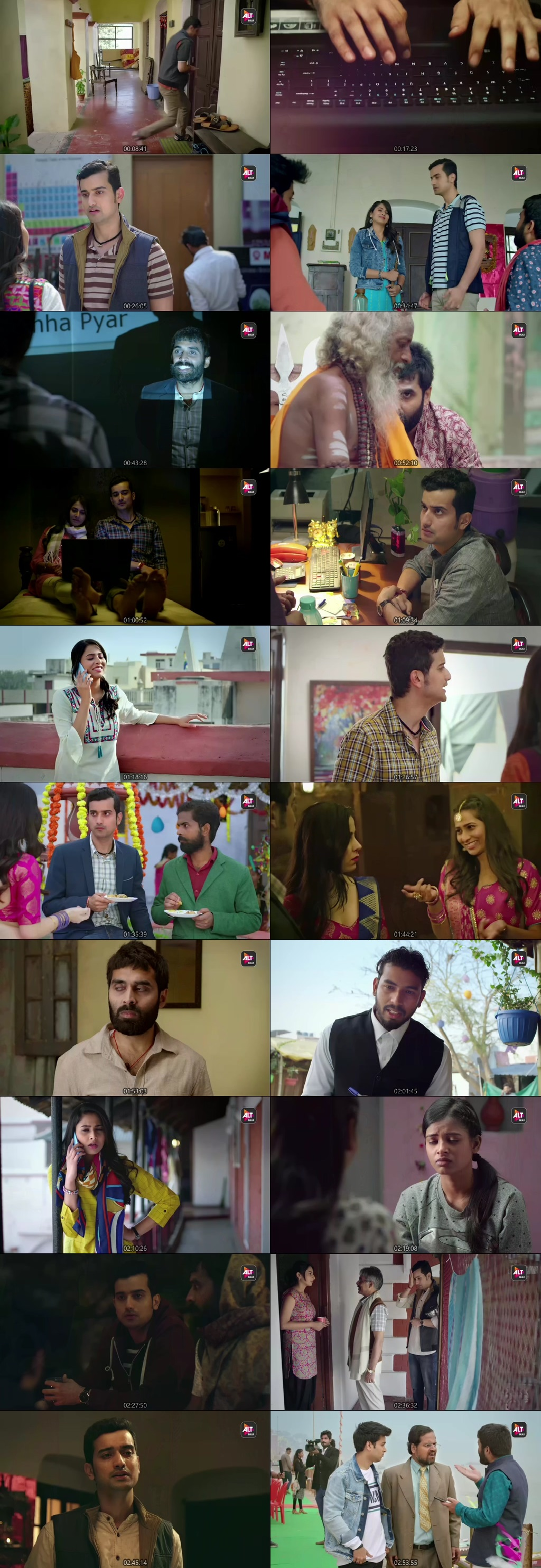 Screenshots Of Hindi Show Virgin Bhasskar Season 01 2019 Complete - All Episodes 300MB 480P HD
