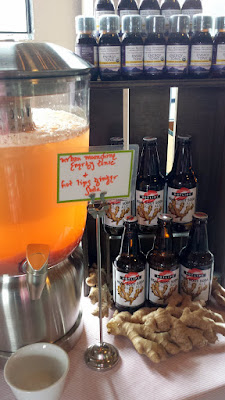 Portland Monthly Country Brunch 2016 Urban Moonshine Energy Tonic + Hot Lips Ginger Soda, presented by New Seasons