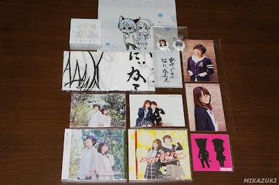 『あゆごま82Cafeトークライブ ~ さんくす☆82mates ~』物販で販売されたグッズ一式