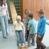 předškoláček ve školní družině
