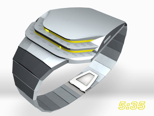 Cobra LED Concept Watch