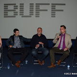 WWW.ENTSIMAGES.COM -    Jessie Grace Mellor, Billy Cook, David Essex, Benjamin Johns and Isabella Batters   Q&A at Traveller - UK film premiere / Q&A at Genesis Cinema, 93-95 Mile End Road, London September 8th 2013                                           Photo Mobis Photos/OIC 0203 174 1069