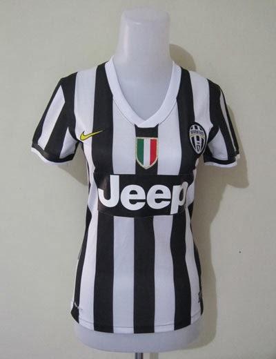 Jual Jersey Wanita Juventus Home 2014