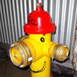 funny firepost in Reykjavik in Reykjavik, Hofuoborgarsvaeoi, Iceland