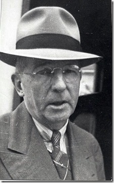 MILNE_Joseph_close up in hat probably 1950s