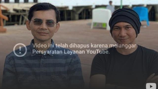 YouTube Take Down Video Wawancara Anji dengan Hadi Pranoto soal Obat Corona Sudah Ditemukan