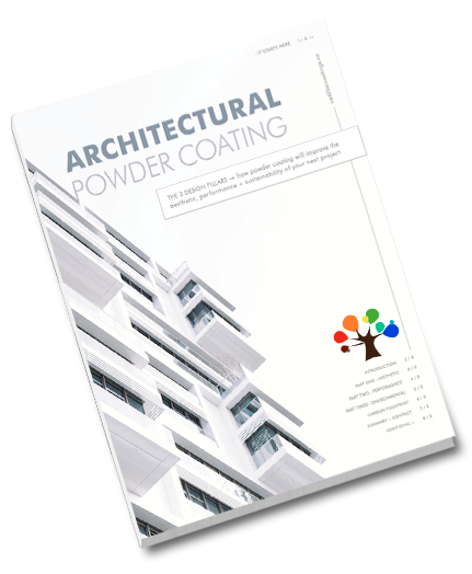 Architectural Powder Coating E-Book Cover