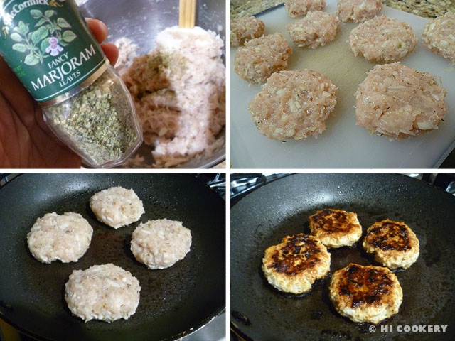 Apple Chicken Patties
