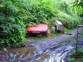 Abandoned Porsche 924