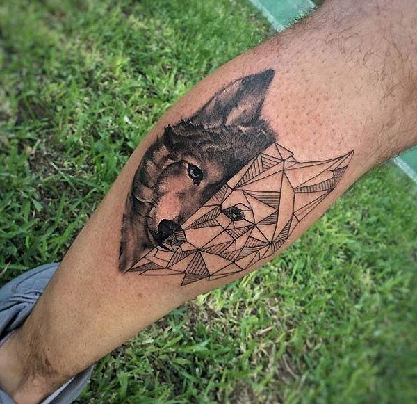 este_geomtricas_wolf_em_bezerro