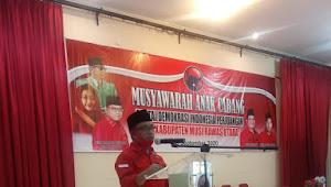 Pidato H Devi Suhartoni  Menggelegar, Kader Banteng Muratara Menggelora untuk Kemenangan HDS-Tullah
