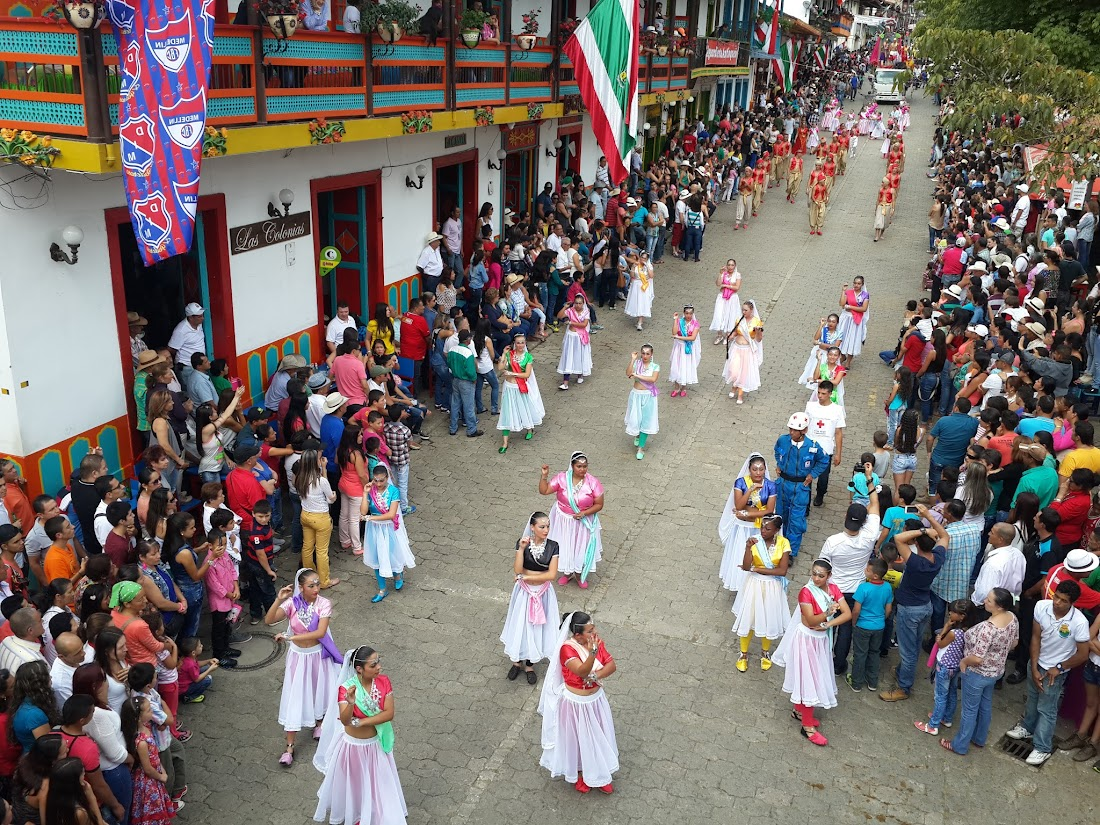 Desfile de Comparsas 2015