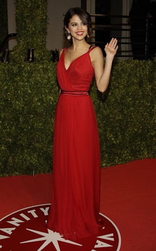 selena gomez red dress vanity fair. girlfriend selena gomez red