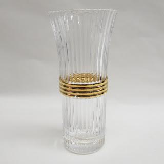 Christian Dior Crystal Vase