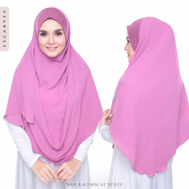 tudung shawl labuh online