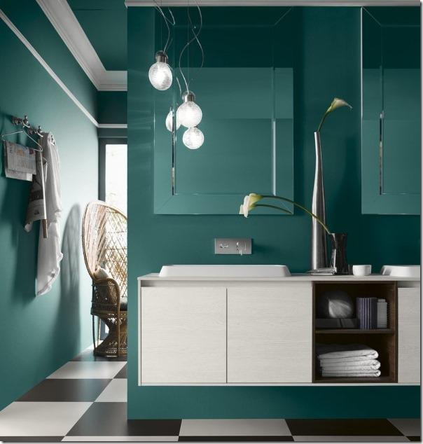 Arredare il bagno con i mobili Inda Perfetto