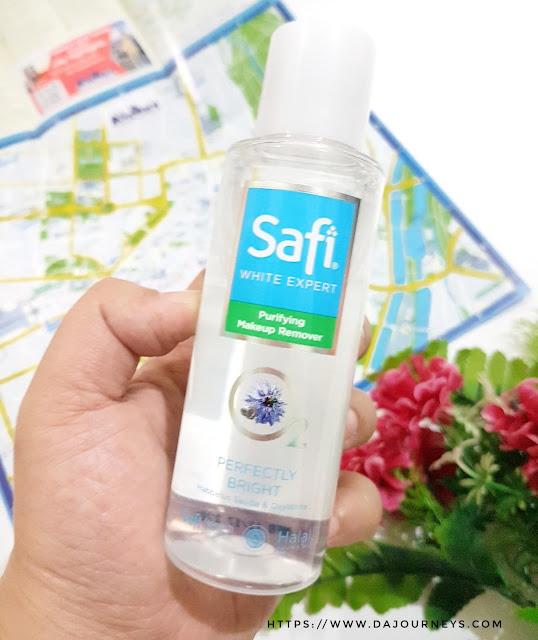Review SAFI White Expert Purifiying Makeup Remover