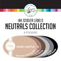 Neutrals Collection Ink Stickers