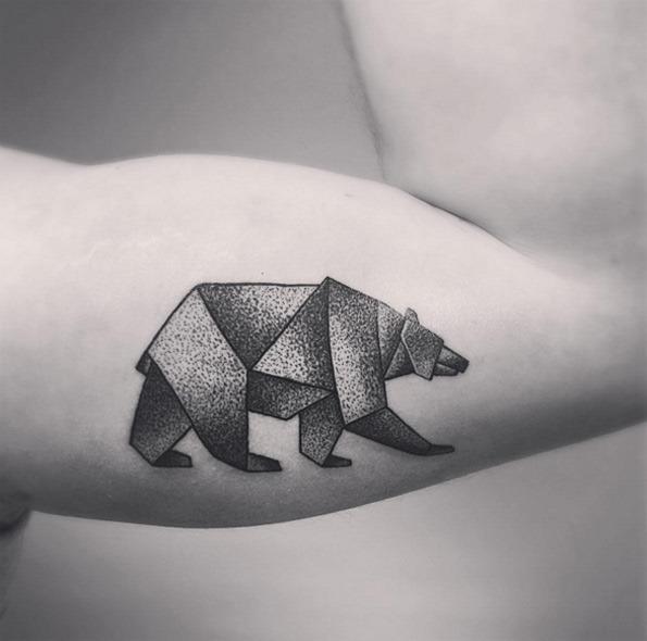 Este dotwork urso