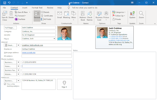 Create a Virtual Business Card Using PowerShell & Graph API (Part 1)