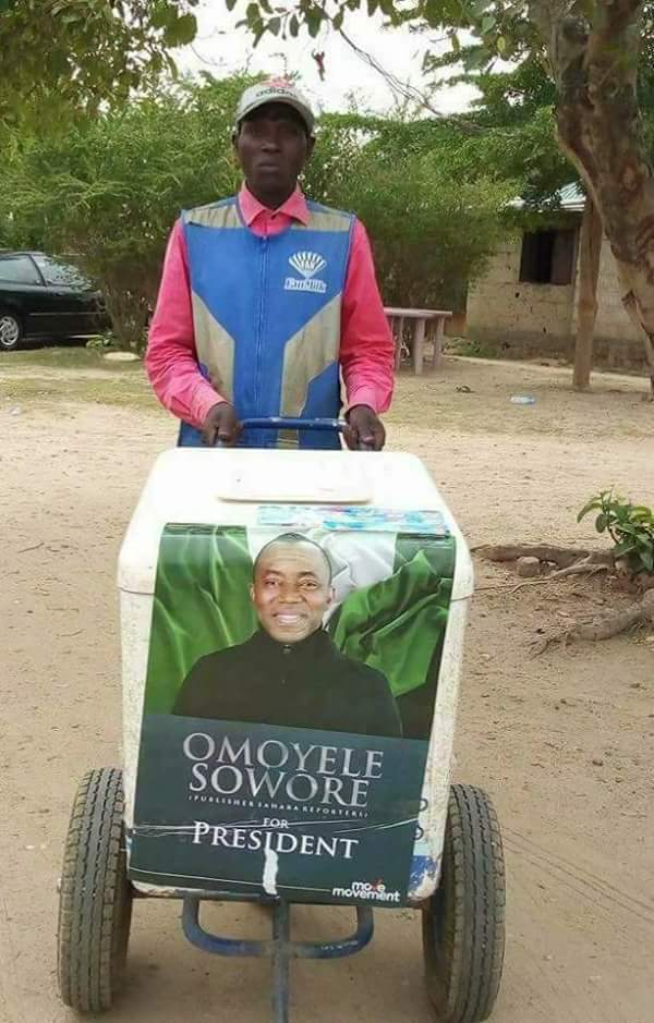 Image result for sowore campaign poster