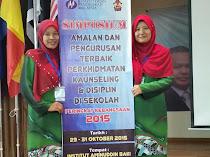 Pertandingan Amalan Terbaik Perkhidmatan Kaunseling Kebangsaan 2015: Kategori Sekolah Menengah