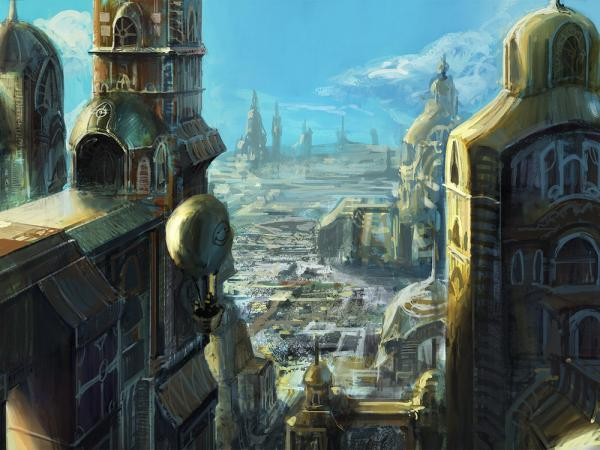 City Of Great Citadels, Fiction 1