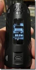 CIMG0312 thumb - 【MOD】DOVPO TRIGGER168W BOX MOD(ドヴポトリッガー168W)レビュー! 最大出力168Wというハイパワーマシン!【BOX MOD/ハイパワー/温度管理】