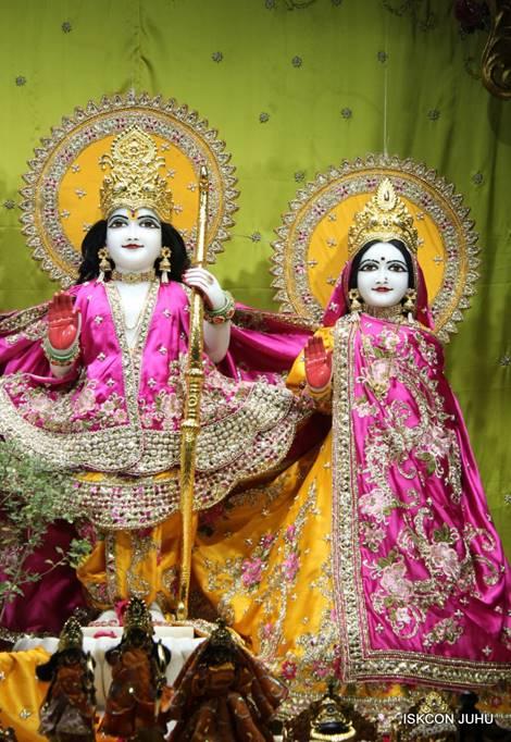 ISKCON Juhu Mangal Deity Darshan 05 Mar 2016 (2)