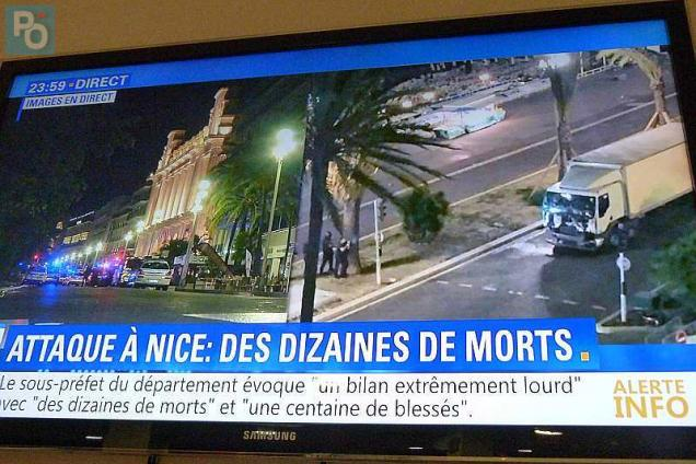Pandemonium in France after new terrorist attack: graphic images