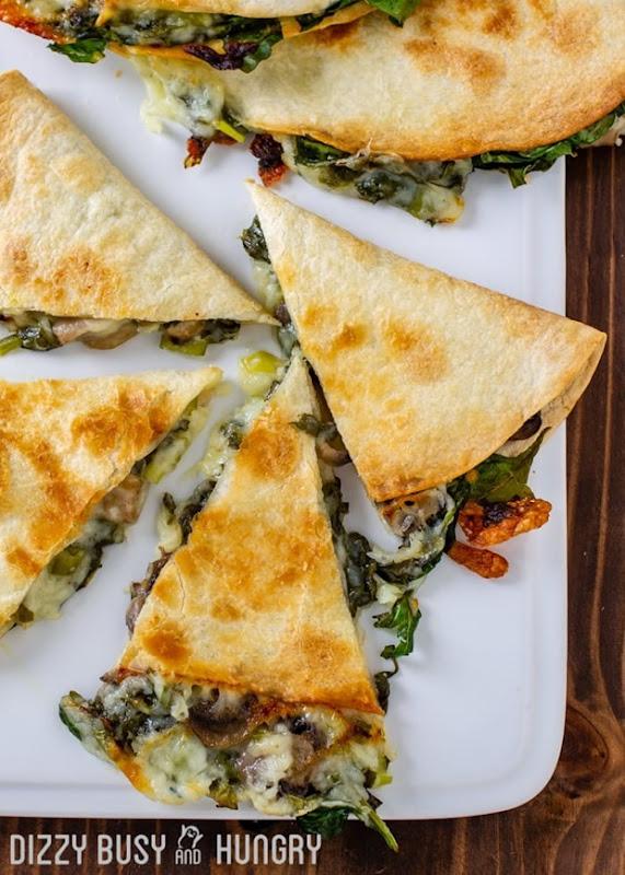 Baked-Spinach-Mushroom-Quesadillas-1-4