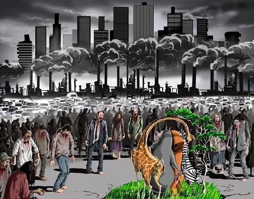 1. Distrugem și poluăm tot ce ne înconjoară, nu doar pe noi.