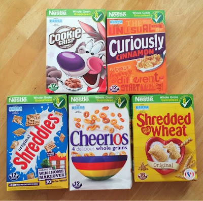 Nestle Cereals #BreakFastWeek Challenge.