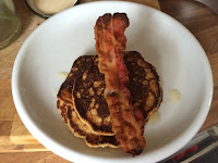 Rationing pancakes bacon