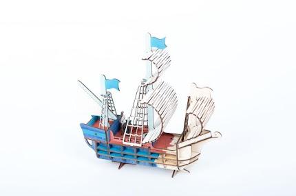 Модель Розмальовка Ship