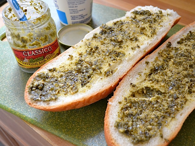 spread pesto