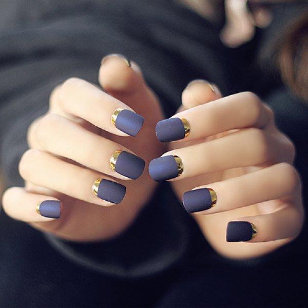 Gorgeous Crescent Moon Nails