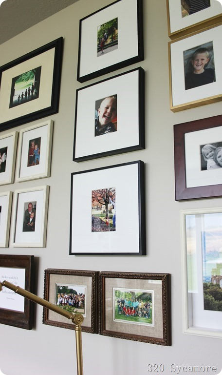 gallery wall grouping