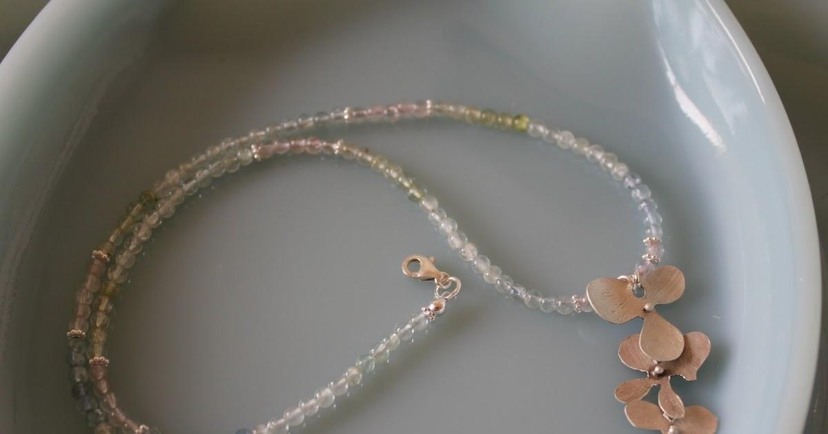 晶式會社: 【百花齊放特集】海水藍寶:項鍊一款