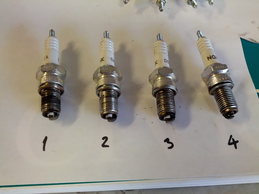 cbc problem carbs ignition help hondacb which is a little carbon blackened