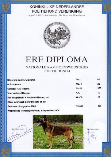 Ere Diploma Bennie